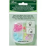 CLOVER 3033 Quick Locking Stitch Marker Set