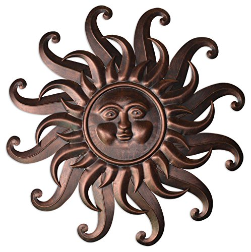 sun outdoor wall art - 5