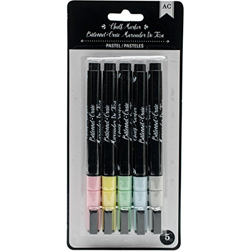 American Crafts Chalk Marker Pastels 5 Pack