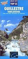 Carte de randonnée, n° 3537ET : Guillestre Vars.Risoul, Parc naturel régional du Queyras, Echelle : 1:25.000 - 1 cm =250 m par Institut géographique national