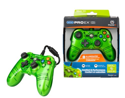 Mini Pro Ex Controller - Mini Pro EX Controller for Xbox 360 - Green (Wired)