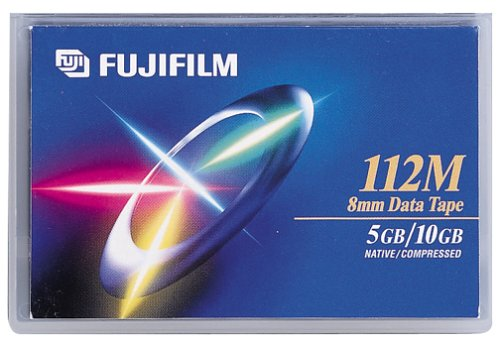 Fujifilm 8MM 112M Data Tape (1-Pack) (Discontinued by Manufacturer)