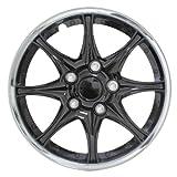 "Pilot WH522-16C-B Black Chrome 16"" Wheel Cover"