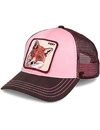 3e43746874a4e Goorin Brothers Men s Animal Mesh Trucker Cap Hat Snapback (Foxy Baby)