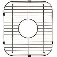 Franke USA FGD50 Stainless Steel Universal Double Bowl Sink Grid with Center Drain, 13.13 x 11.63 by Kindred Sinks