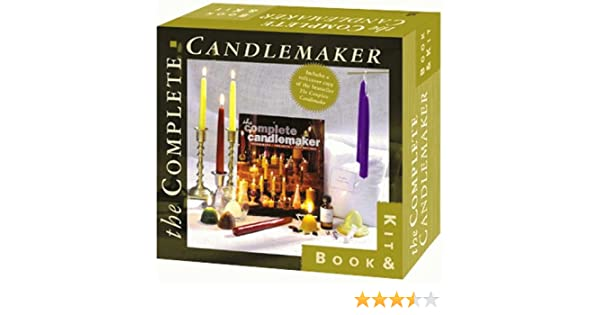 The Complete Candlemaker Book & Kit: Inc. Sterling Publishing Co.: 9781579900069: Amazon.com: Books