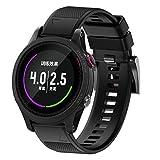 Cheap Becoler Soft Band Strap, Quick Release Watch Strap Smart Watch Band for Garmin Forerunner 937