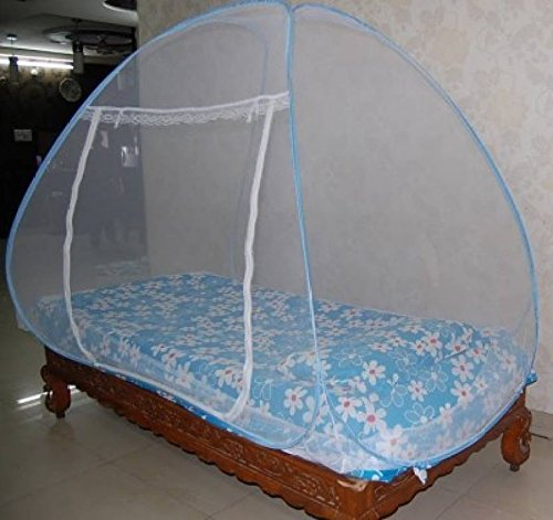 Royal Foldable Single Bed Mosquito Net (Blue) product image