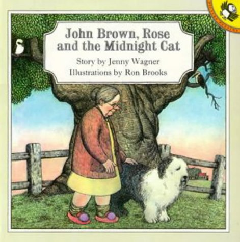 John Brown, Rose and the Midnight Cat (Picture Puffin) (Midnight Roses)