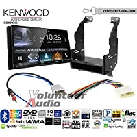 Volunteer Audio Kenwood DDX9904S Double Din Radio Install Kit with Apple CarPlay Android Auto Bluetooth Fits 2010-2012 Nissan Sentra