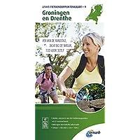Knotenpunktkarte 01 Groningen en Drent 1:100 000 (ANWB fietskaart)
