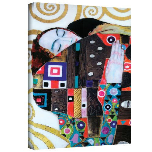 Beethoven Frieze Klimt (Art Wall Beethoven Frieze Gallery Wrapped Canvas by Gustav Klimt, 24 by 36-Inch)
