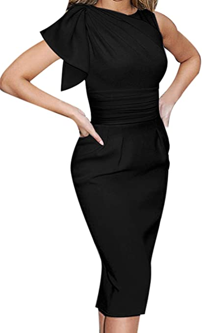 Celebrity Elegant Ruched Cocktail Party Bodycon Sheath Dress