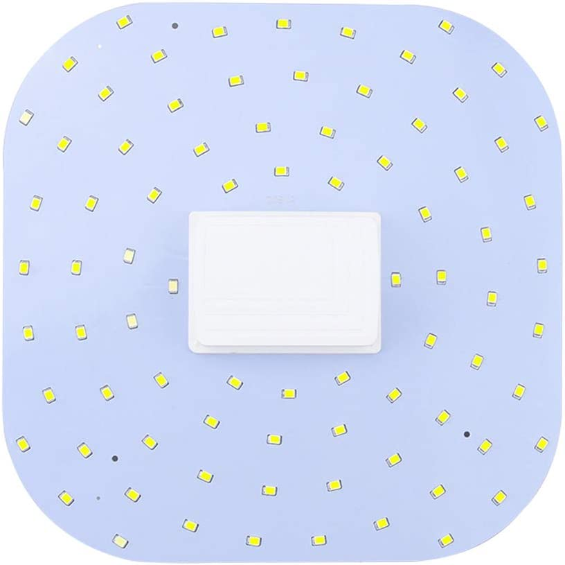 Luxvista 18W 2D 4 Pin Square LED Bulb - GR10q Base LED Light Bulb 28W CFL Replacement Natural White 4000K (Attention: Need to Remove/Bypass The Ballast)