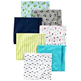 Simple Joys by Carter's baby-boys Baby 7-pack Flannel Receiving Blankets