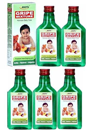 GRIPE MIXTURE Homoeo Baby care -Pack of 5