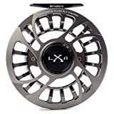Kraken XLA Fly Reel Series, Gunsmoke, 6-9wt