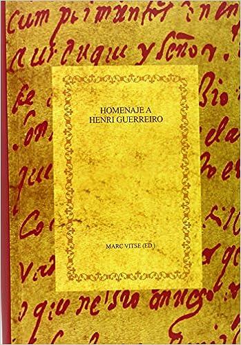 Homenaje a Henri Guerreiro. La hagiografía entre historia y ...