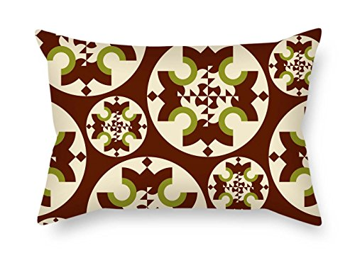 Cheap  TonyLegner Colorful Geometry Cushion Cases Best for Christmas Bench Divan Monther Club..