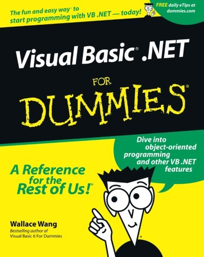 VisualBasic .NET For Dummies by Brand: For Dummies