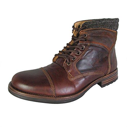 Steve Madden Men's Gunison Boot, Tan, 11 M US