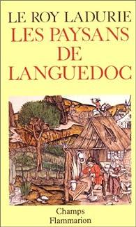Les paysans de Languedoc par Emmanuel Le Roy Ladurie