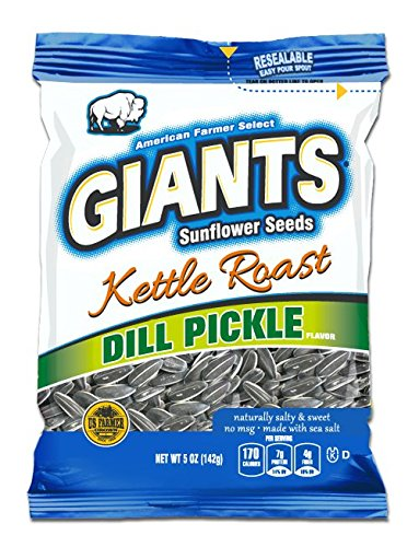 Sweet Dill Pickle Kettle Roast Sunflower Seeds (12-5 oz. Bags)
