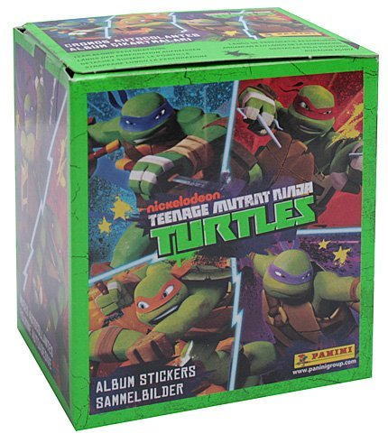 Amazon.com: Las tortugas Ninja TMNT 2014 Panini caja de 50 ...