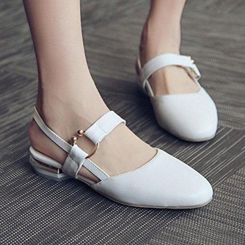 Coolcept Women Shoes Closed White Court Toe wwvx4ndP