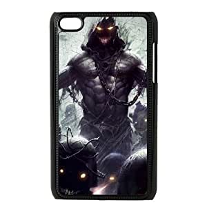 iPod Touch 4 Phone Case Black Disturbed Metal VMN8148509