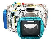 EACHSHOT 40m/130ft Waterproof Underwater Housing Diving Camera Case Bag for Nikon V1 10mm-30mm Lens