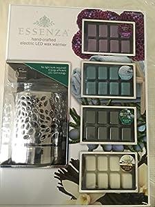 Amazon Com Essenza Hand Crafted Led Wax Warmer Dahila Dew