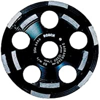 Bosch DC520 5-Inch Diamond Cup Grinding Wheel for Abrasive Materials