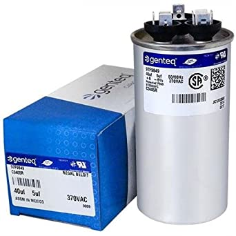Quality USA BRAND! GE Genteq Capacitor Round 40//5 uf MFD 440 volt 97F9838