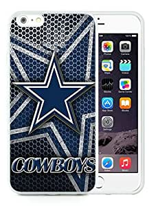 Cheap Abstract iPhone 6S Plus Case,Dallas Cowboys 4 White New Custom Design iPhone 6S Plus TPU Cover Case