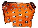 College Covers Auburn 5 Pc Baby Crib Logo Bedding Set