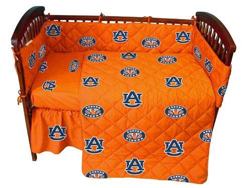 Auburn 5 Pc Baby Crib Logo Bedding - Auburn Outlet Stores