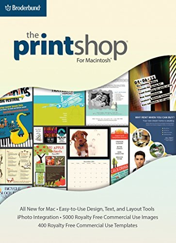 The Print Shop for Mac: Your PrintShop, all new for Macintosh! [Download] by Encore