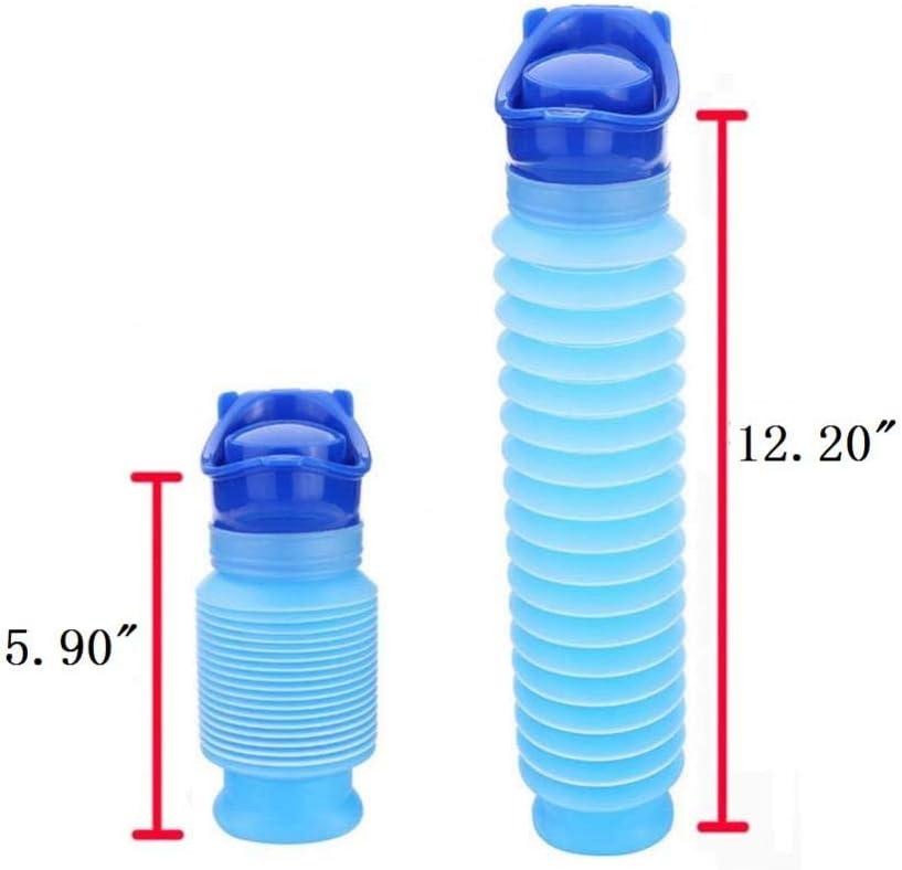 viaggi adulti taglia unica Blue per campeggio Mini orinatoio portatile di emergenza per bambini