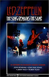 The song remains the same [Francia] [VHS]
