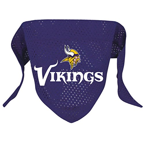 Hunter MFG Minnesota Vikings Mesh Dog Bandana, Small