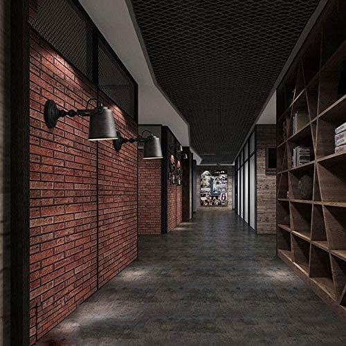 XZHKSP Applique da Parete Lampada da parete industriale retrò murale regolabile in ferro battuto decorazione della casa illuminazione lampada creativa personalità