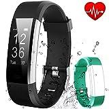 Fitness Tracker HR Flenco Activity Tracker Heart Rate Monitor Smart Bracelet Health Sport
