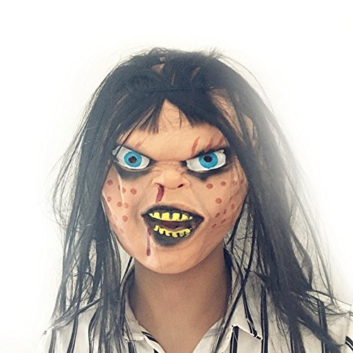 Siavicky Novelty Latex Rubber Creepy Scary Ugly Baby Head the Goonies Sloth Mask Halloween Party Costume Decorations