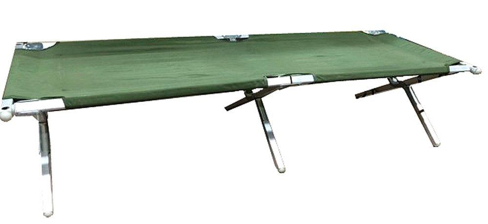 Brand New, Genuine Issue Military Aluminum Folding Cot