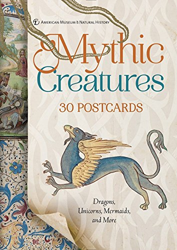 Dragon Postcard - Mythic Creatures: 30 Postcards: Dragons, Unicorns, Mermaids, and More