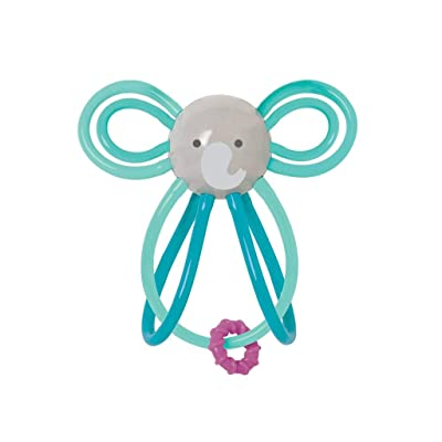 Manhattan Toy Winkel Elephant Rattle & Sensory Teether: Toys & Games