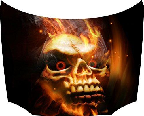 Bonnet Tattoo Sticker Skull: