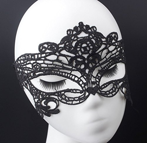 [Sexy Mask - Venetian Masquerade Lace Eyemask Eye Mask for Halloween Party, Costume for Women,] (Venetian Carnival Masks)