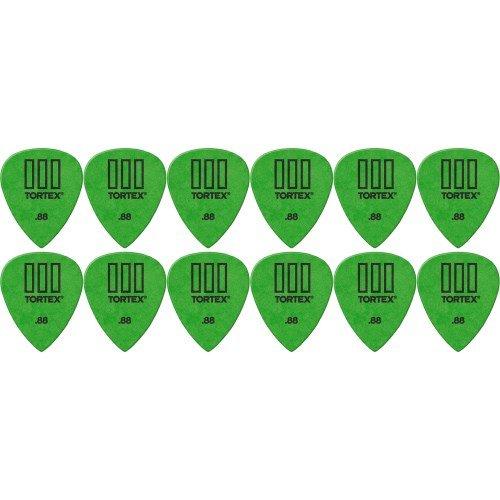 Dunlop Tortex T3 Sharp Tip Guitar Picks 12-Pack .88 mm